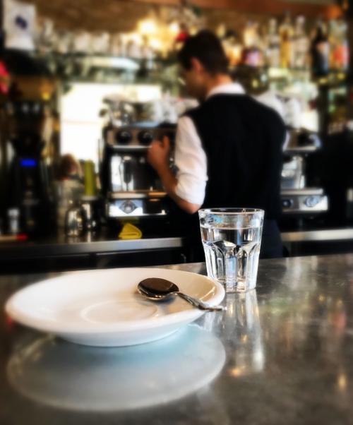 Sanremo, Italy, espresso