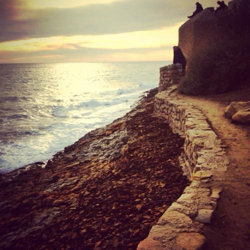 cassis coast, path