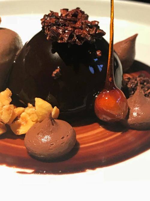 ALMA'S in Lisbon Chocolate Bomb