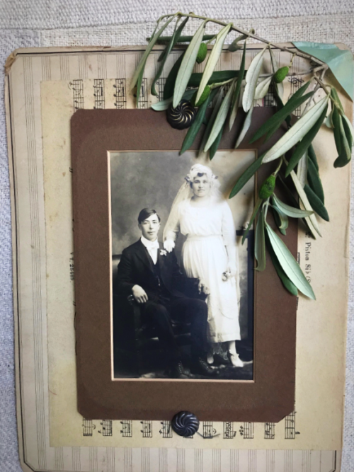 great grandparents wedding day