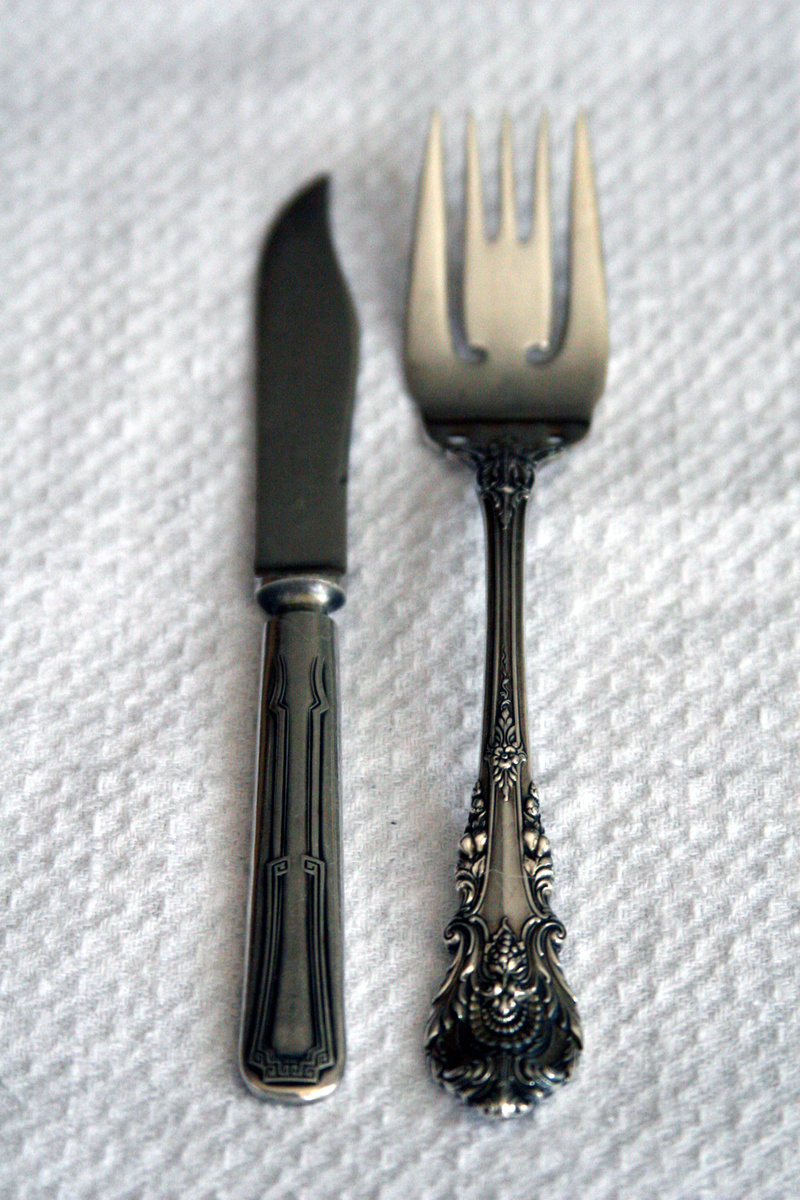 Tongue In Cheek French Silverware