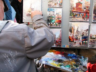 Painter_in_montmarte