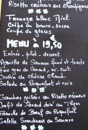 French_menu