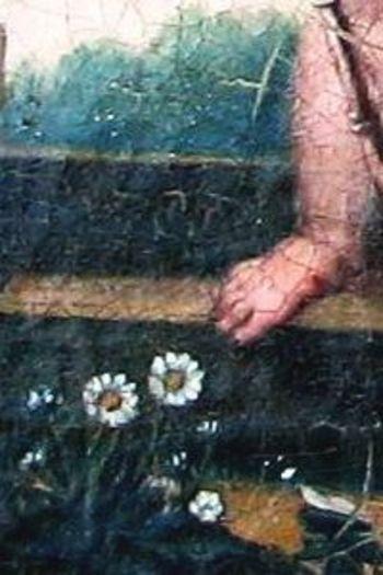 Angel18thcenturyflowers
