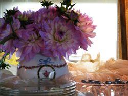 Flowers at Lauren's home