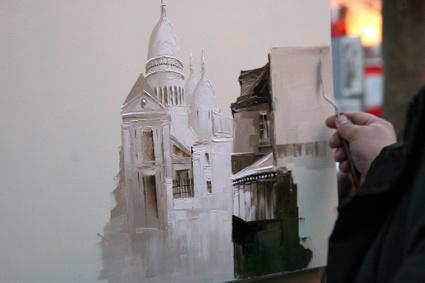 Paintingmontmarteartist