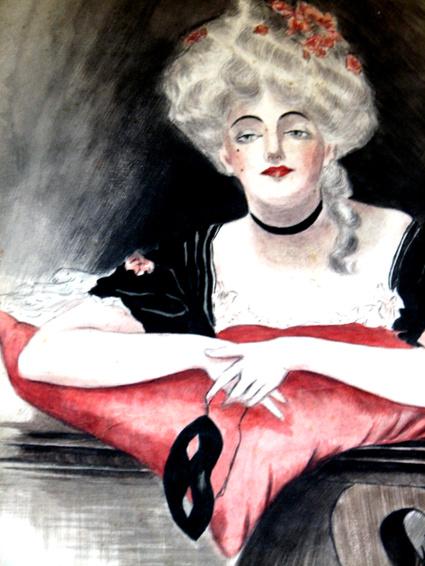 Ladywithmask