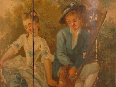 provencal 18th century painting